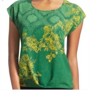CAbi Green With Envy Top Women's XS